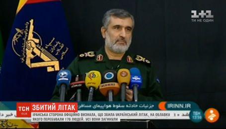 Іран визнав, що збив ракетою український літак під Тегераном