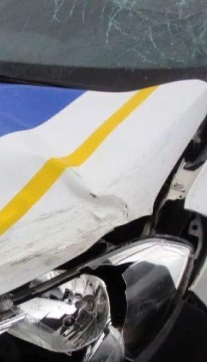 Патрульна машина на смерть збила 40-річного чоловіка на пішохідному переході в Борисполі