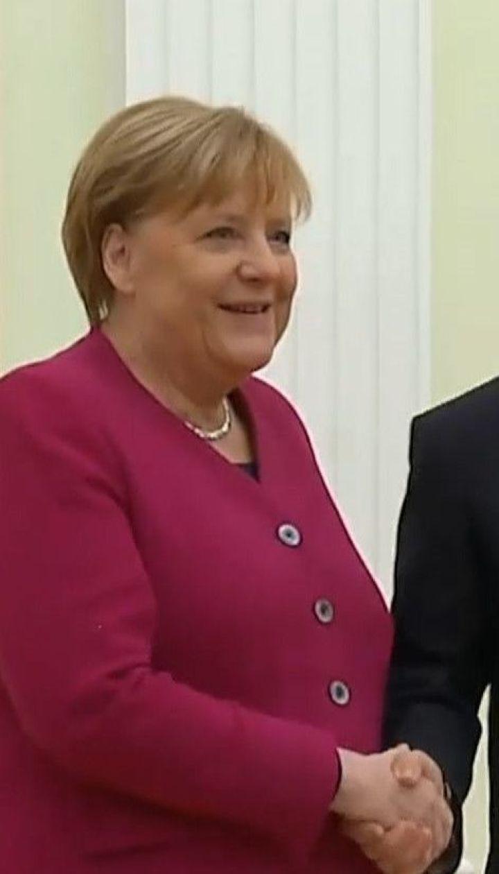 """""""Північний потік-2"""" буде добудований, бо це економічний проєкт – Ангела Меркель"""