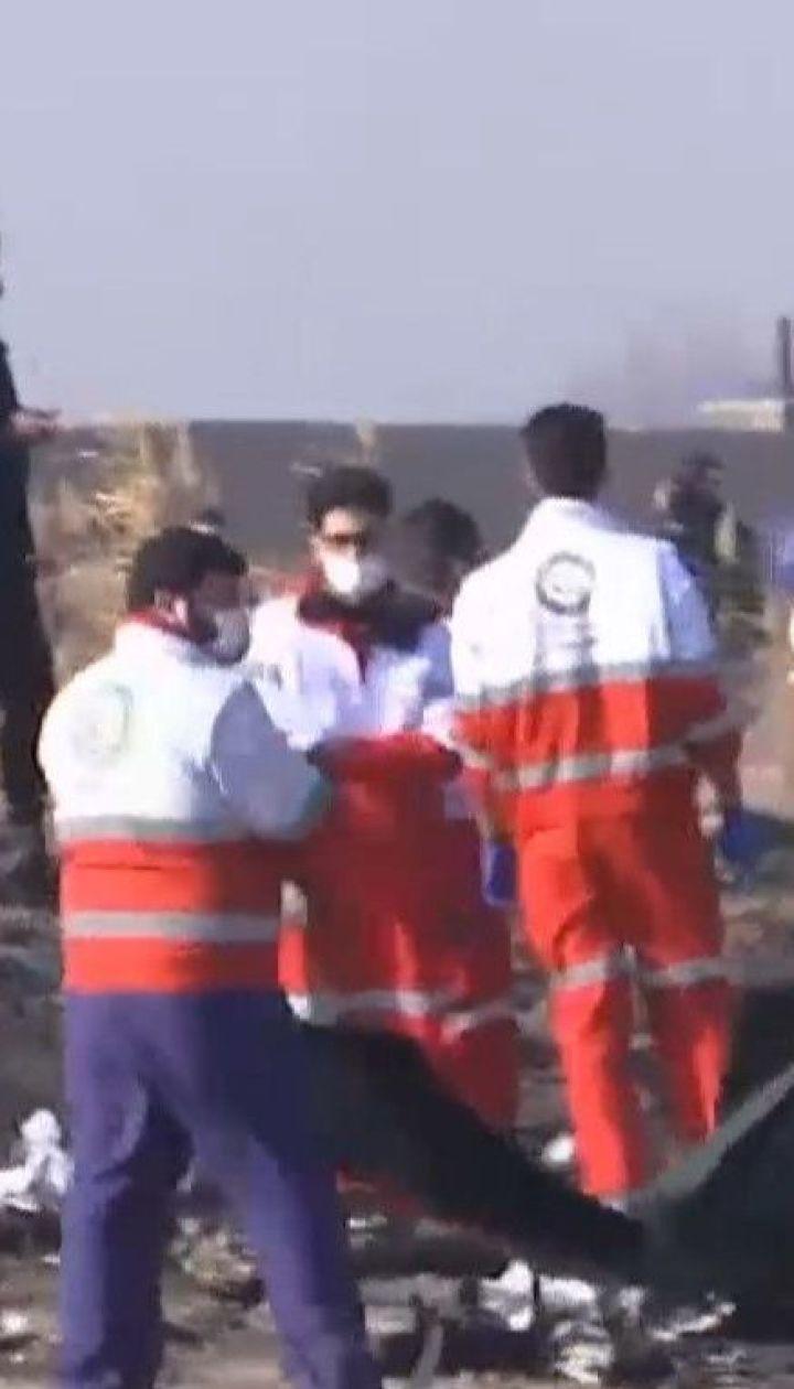 Офіс генпрокурора змінив кваліфікацію справи щодо авіакатастрофи літака в Ірані