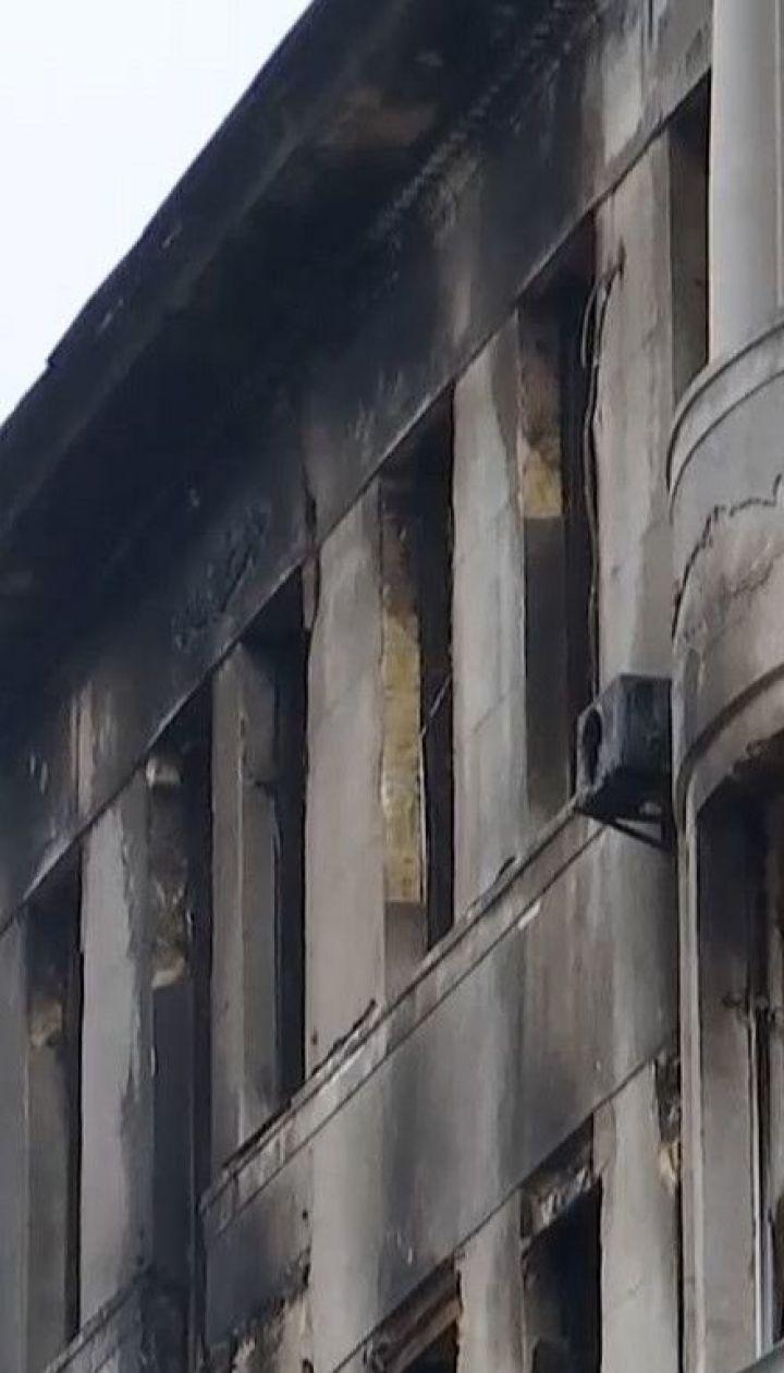 Будівлю згорілого економічного коледжу в Одесі законсервують, а потім – реконструюватимуть