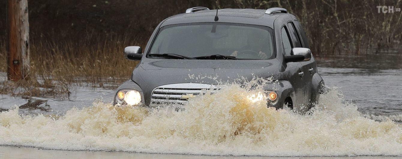 У США через штормову погоду загинули восьмеро людей