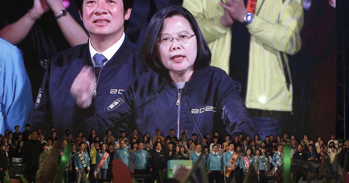 На Тайване переизбрали президентку, которая выступает за независимость острова
