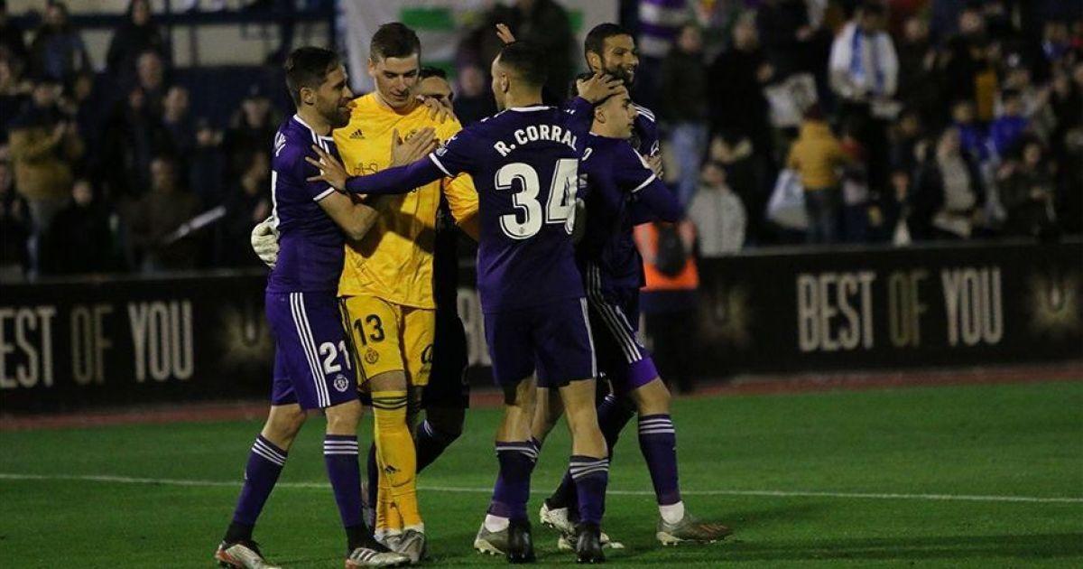 """Лунін став героєм серії пенальті та вивів """"Вальядолід"""" у наступний раунд Кубка Іспанії"""