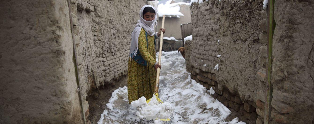 В Афганистане 16 человек погибли из-за обрушения крыш после снегопадов