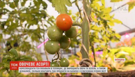 Зелене у січні: кореспонденти ТСН побували в теплицях, де вирощують овочі та зелень