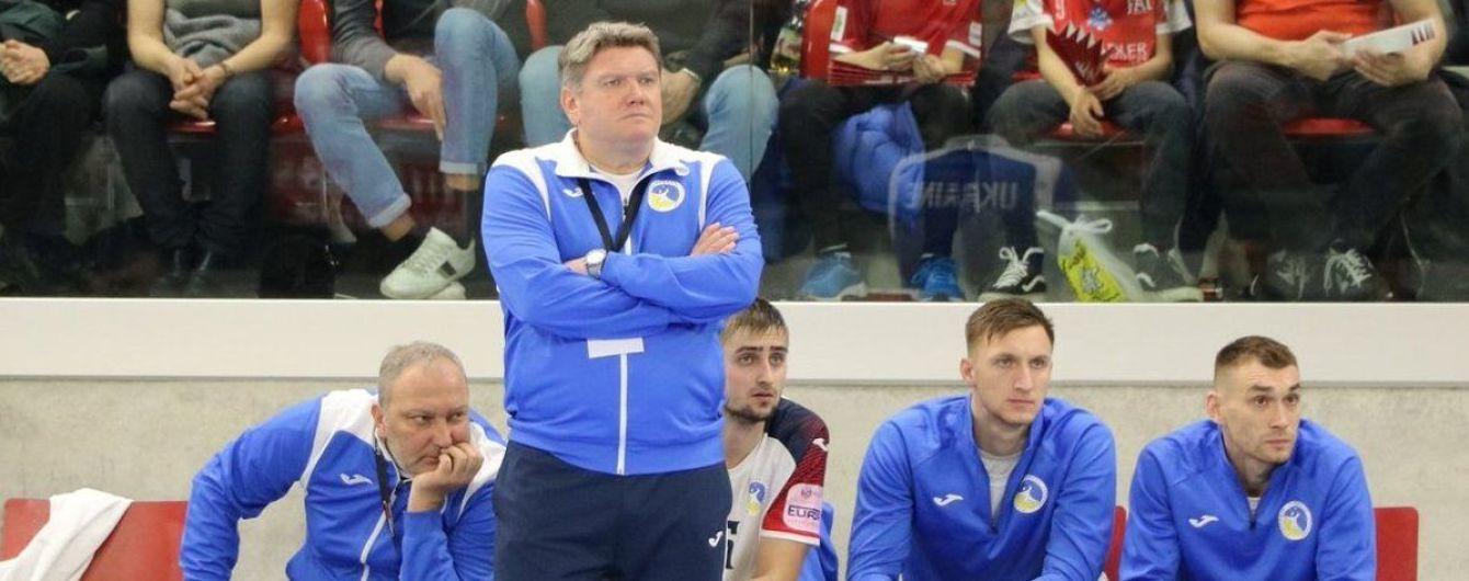 Збірна України з гандболу в напруженій боротьбі зазнала другої поразки на Чемпіонаті Європи