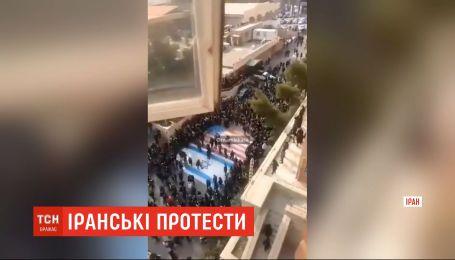 Протести унаслідок трощі українського літака другу добу не вщухають в Ірані