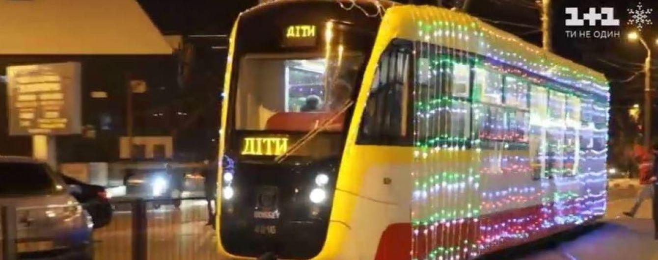 В Одесі влаштували позаплановий парад трамваїв заради одного хлопчика з притулку