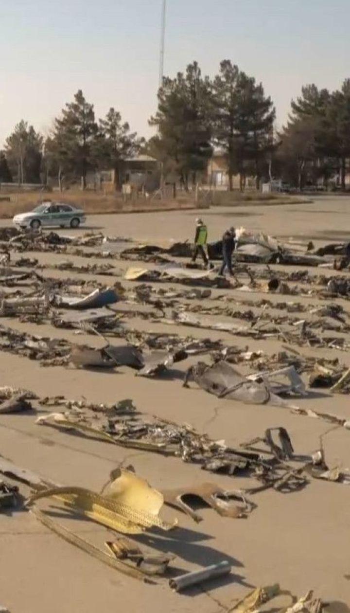 Служба безопасности Украины расследует дело авиакрушения под Тегераном по трем статьям
