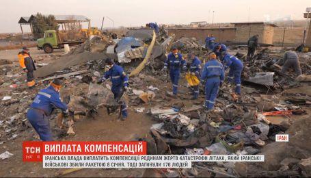 Власти Ирана выплатят компенсацию семьям погибших в авиакрушении возле Тегерана