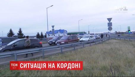Черги скоротились: Держприкордонслужба повідомила про зменшення кількості авто на пунктах пропуску