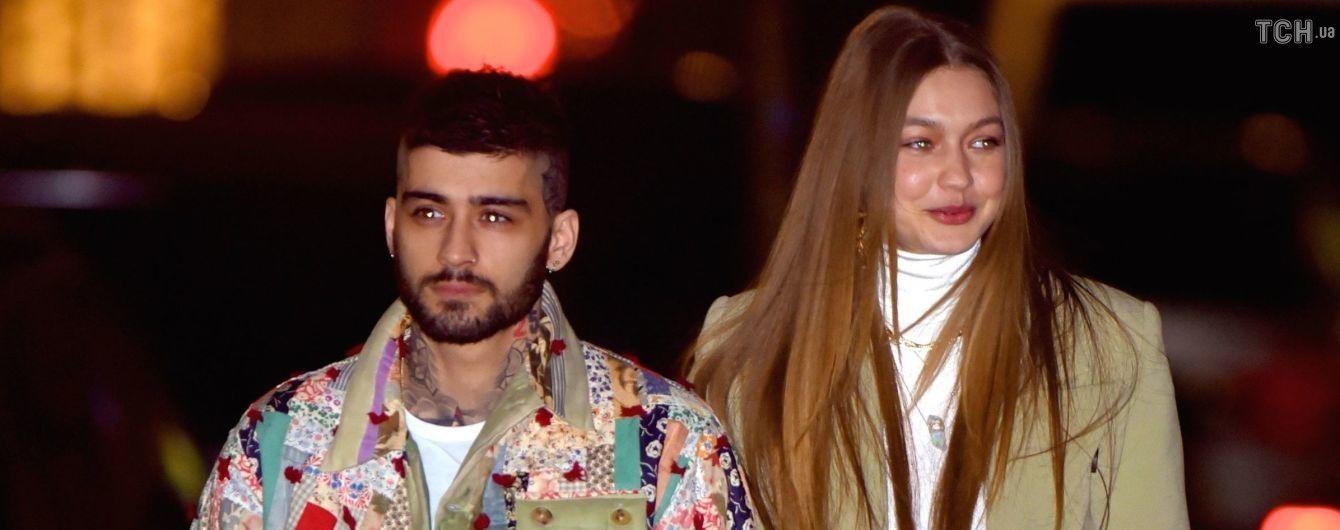 Джиджи Хадид застали на прогулке с бывшим любимым Зейном Маликом