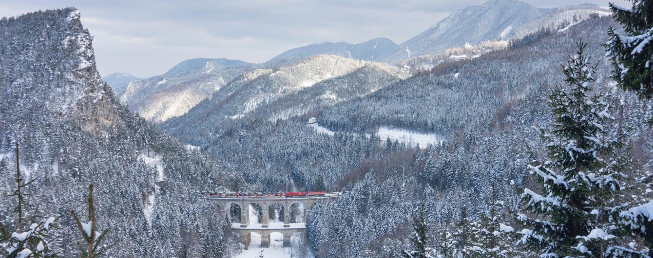 Визначено найцікавіші туристичні подорожі Європою для подорожей потягом