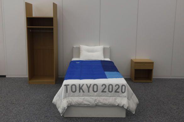 еко ліжка олімпіада-2020, ліжка з картону_3