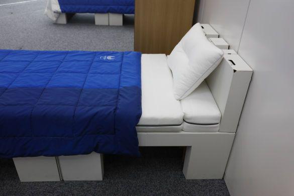 еко ліжка олімпіада-2020, ліжка з картону_2