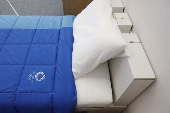 еко ліжка олімпіада-2020, ліжка з картону_4