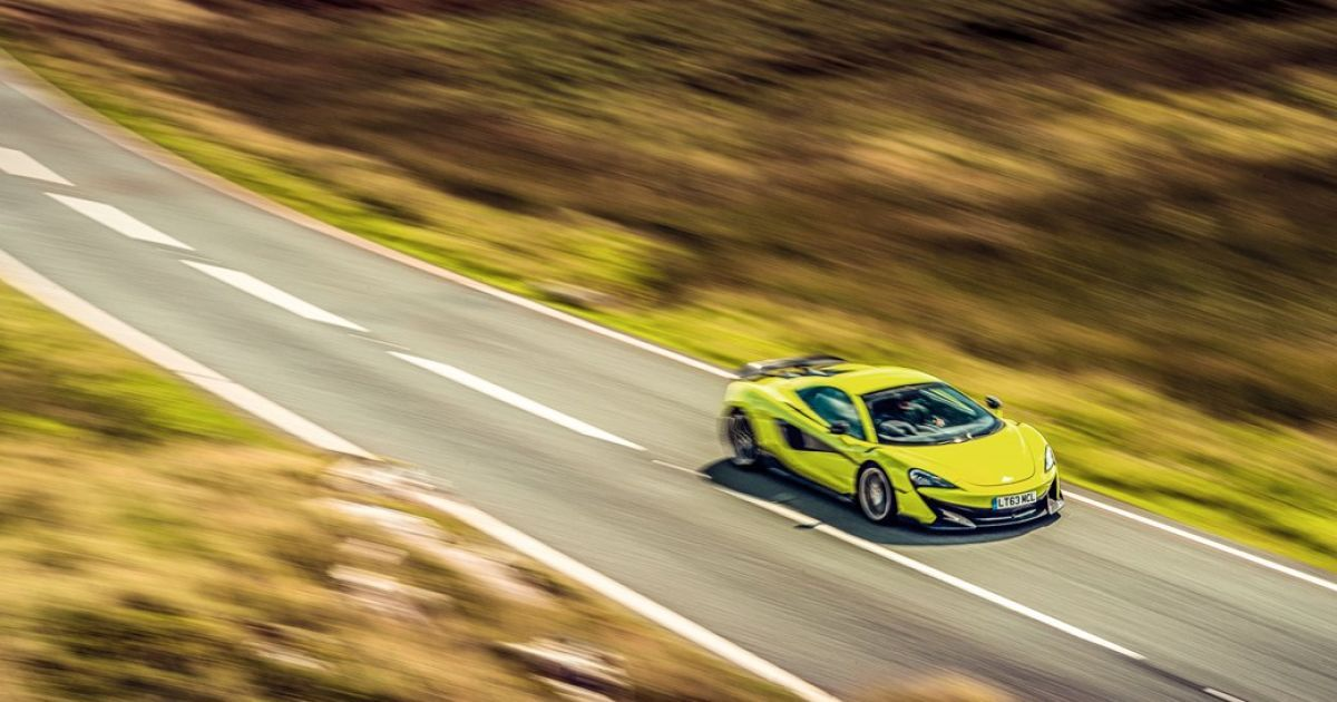 McLaren 600LT @ carmagazine