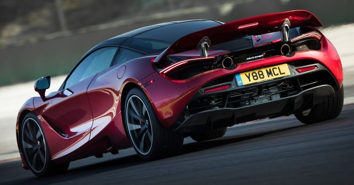 McLaren 720S @ carmagazine