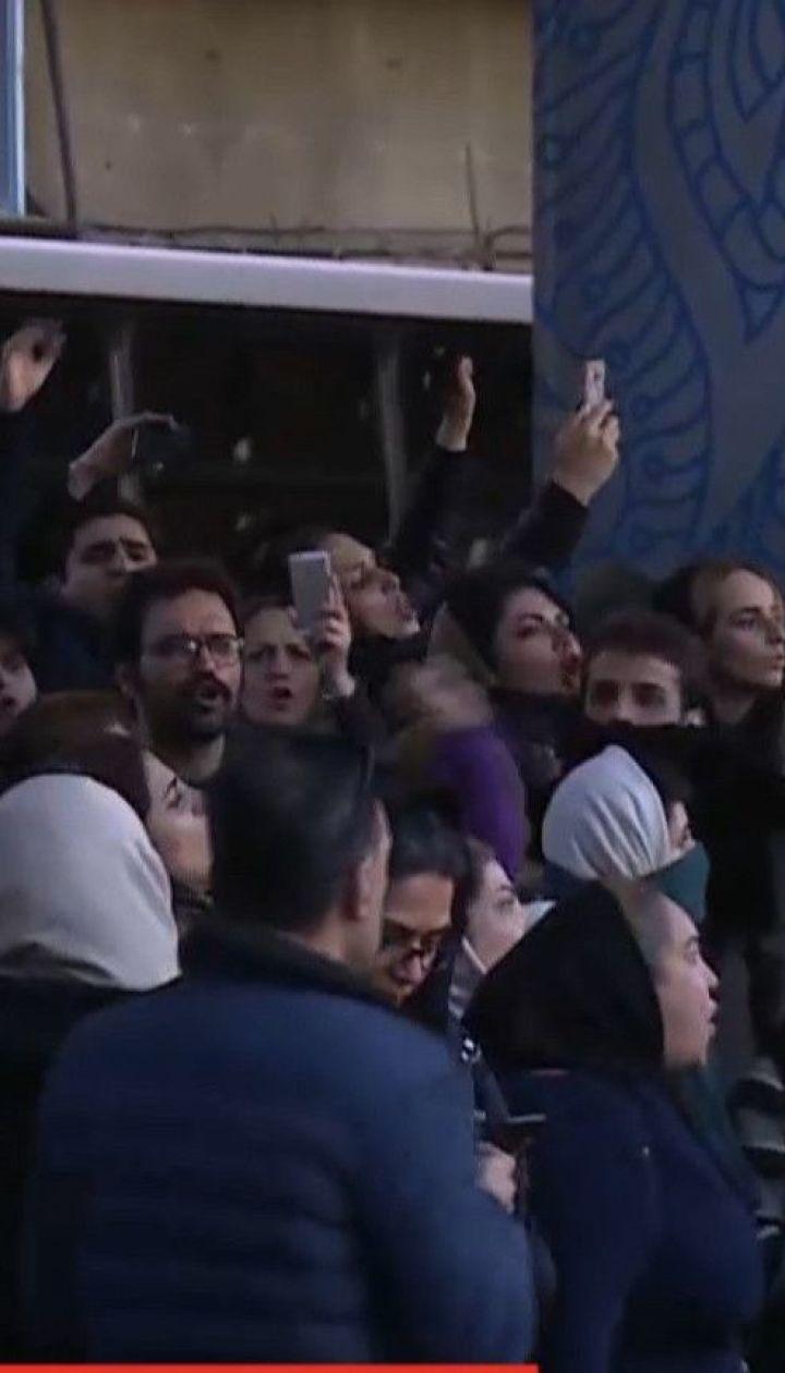 """Силовики в Ірані розігнали мітингарів, які вимагали звільнення причетних до збиття """"Боїнга"""" МАУ"""
