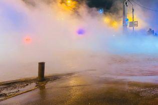 В Киеве в третий раз за два дня масштабно прорвало трубу – соцсети