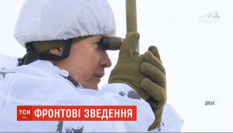 Боевики на Донбассе стреляли из запрещенного оружия шесть раз - штаб ООС