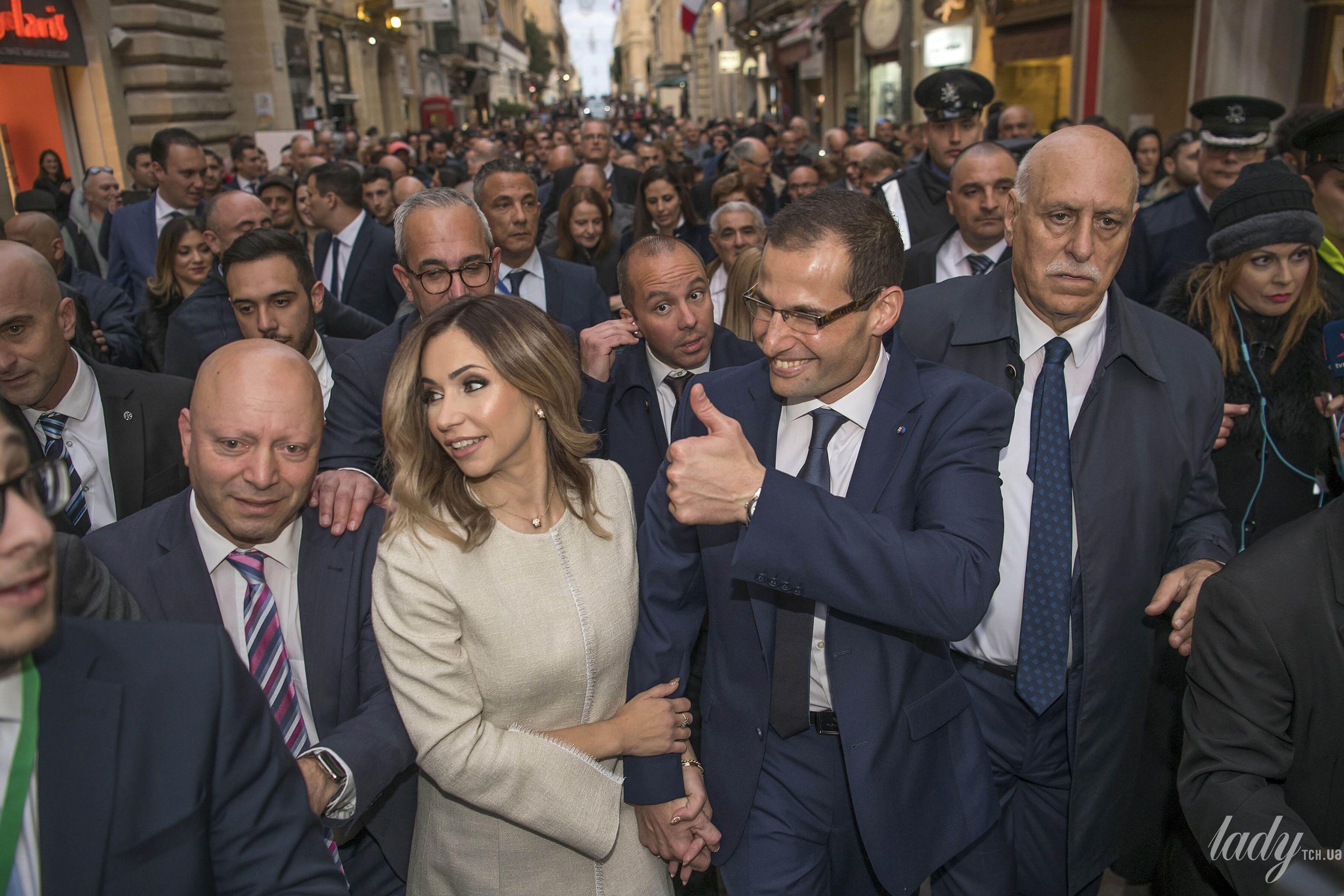 Жена премьер-министра Мальты Лидия Абела_3