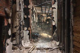 """На Донетчине сгорела база парамедиков """"Ангелов Тайры"""", пострадал волонтер"""