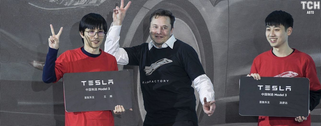 Акції Tesla встановили новий небачений рекорд вартості