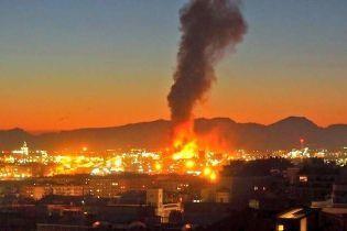 В Испании взорвался нефтехимический завод, есть жертвы
