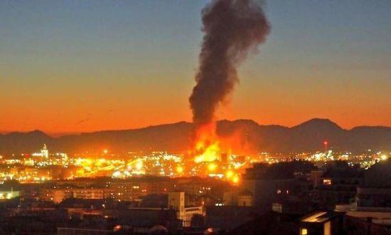 В Іспанії вибухнув нафтохімічний завод, є жертви