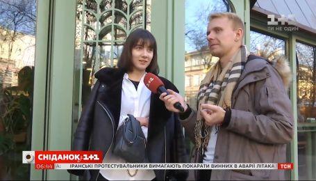 "Любят ли украинцы вкусно поесть - опрос ""Сніданку з 1+1"""