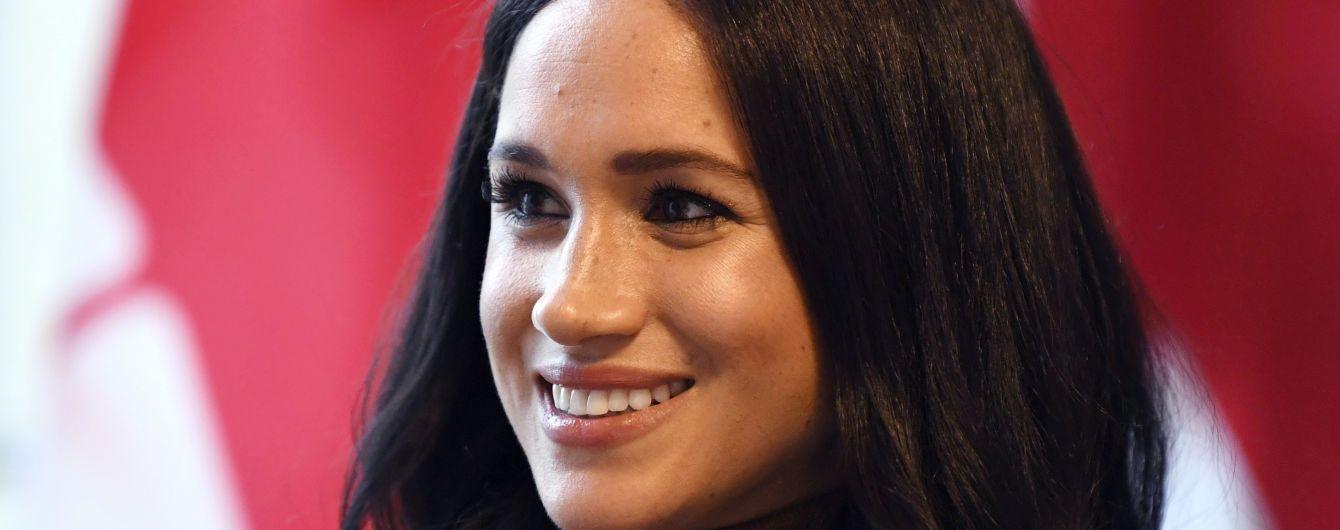 Счастливая Меган впервые появилась на публике после выхода из королевской семьи