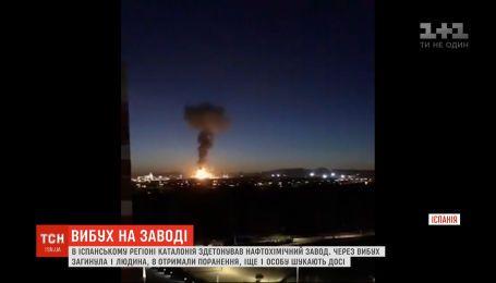 На испанском нефтехимическом заводе произошел взрыв: погиб один человек