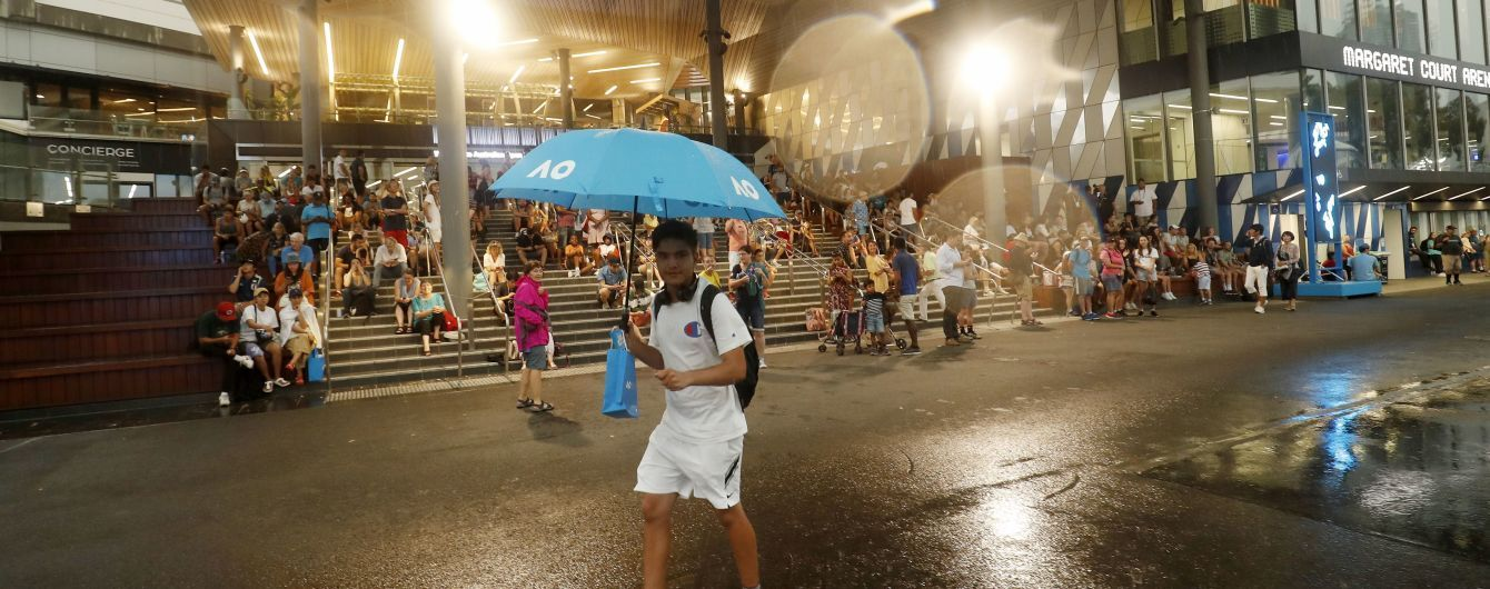 Матчі українок у кваліфікації Australian Open перенесли через зливу