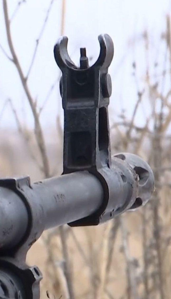 Окупанти на Донбасі вели вогонь по українських позиціях із мінометів великого калібру