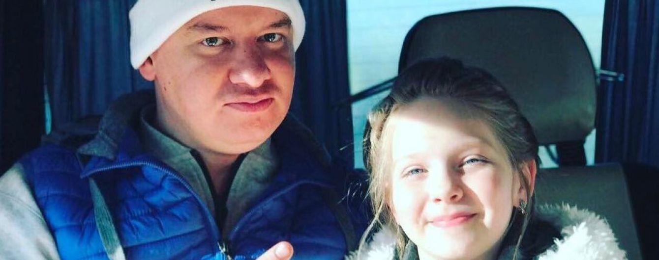 Романтичний Кошовий привітав доньку з днем народження і подякував дружині за дітей