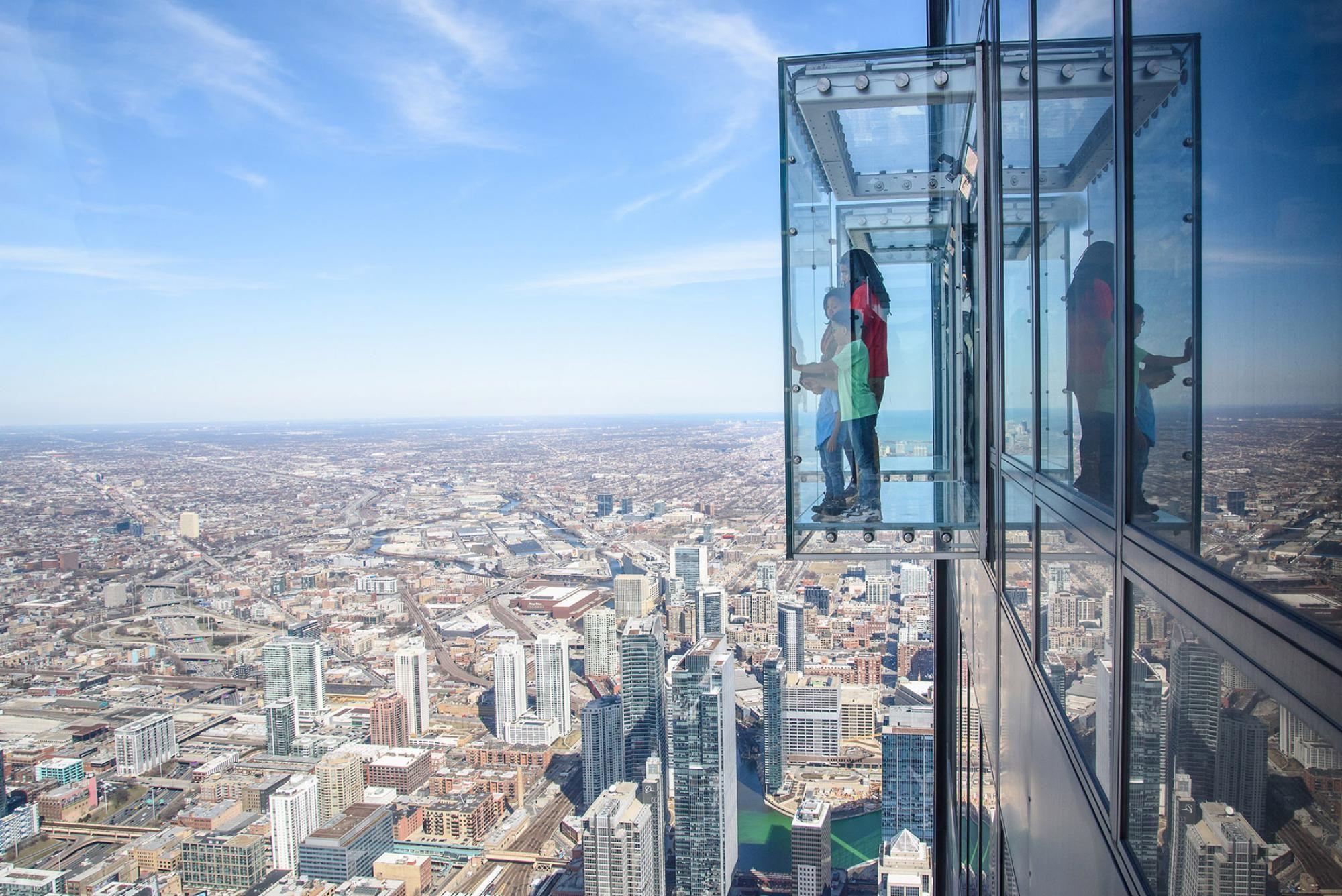 """Вежа """"Скайдек"""", Чикаго,США"""