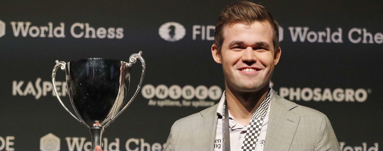 Норвезький шахіст встановив рекордну безпрограшну серію в історії