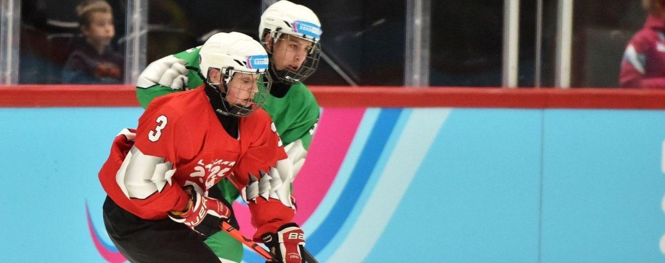 Українські хокеїсти оформили медальний дубль на зимових Юнацьких Олімпійських Іграх