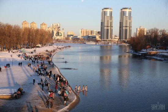 Водохреще без морозів. Прогноз погоди в Україні на 19 січня