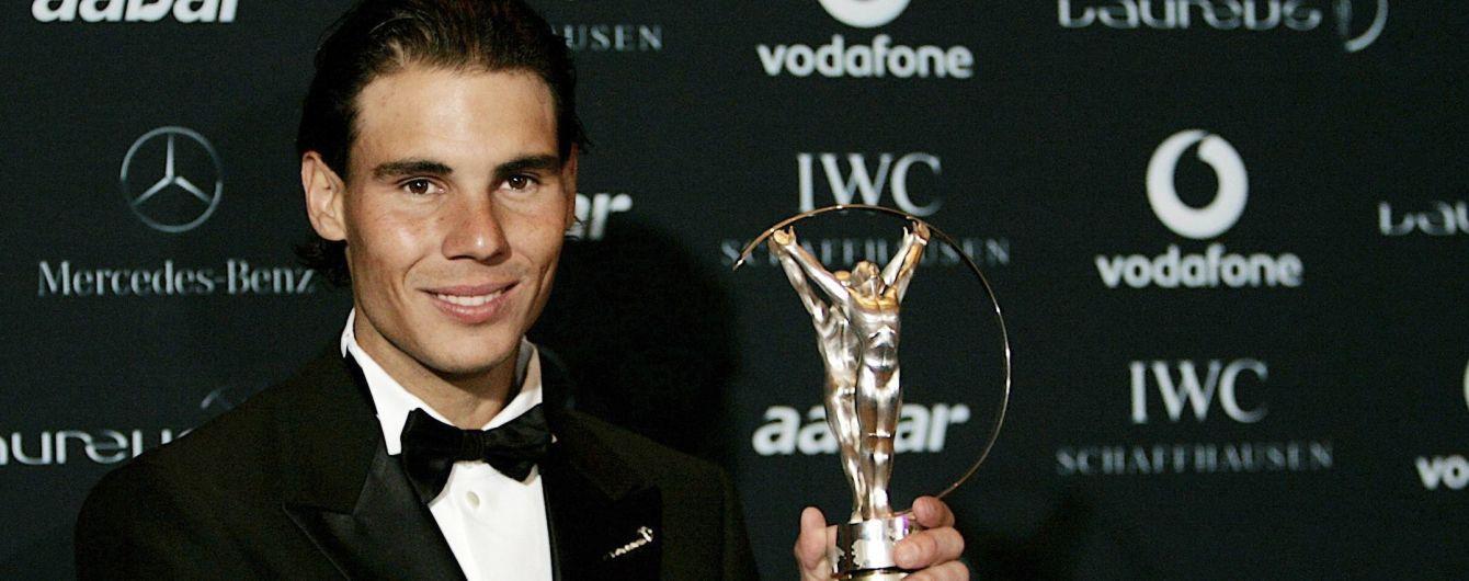 """Надаль, Мессі та зірка Формули-1 претендують на спортивний """"Оскар"""""""