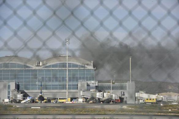 Аліканте Ельче аеропорт пожежа_01