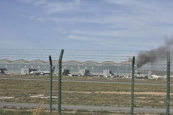 Аліканте Ельче аеропорт пожежа_03