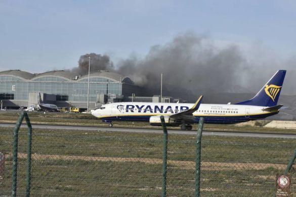 Аліканте Ельче аеропорт пожежа_05