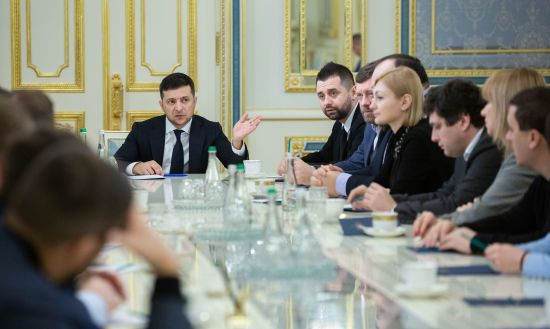 """Зеленський після зустрічі з нардепами """"СН"""" відкликав свій законопроєкт про децентралізацію"""