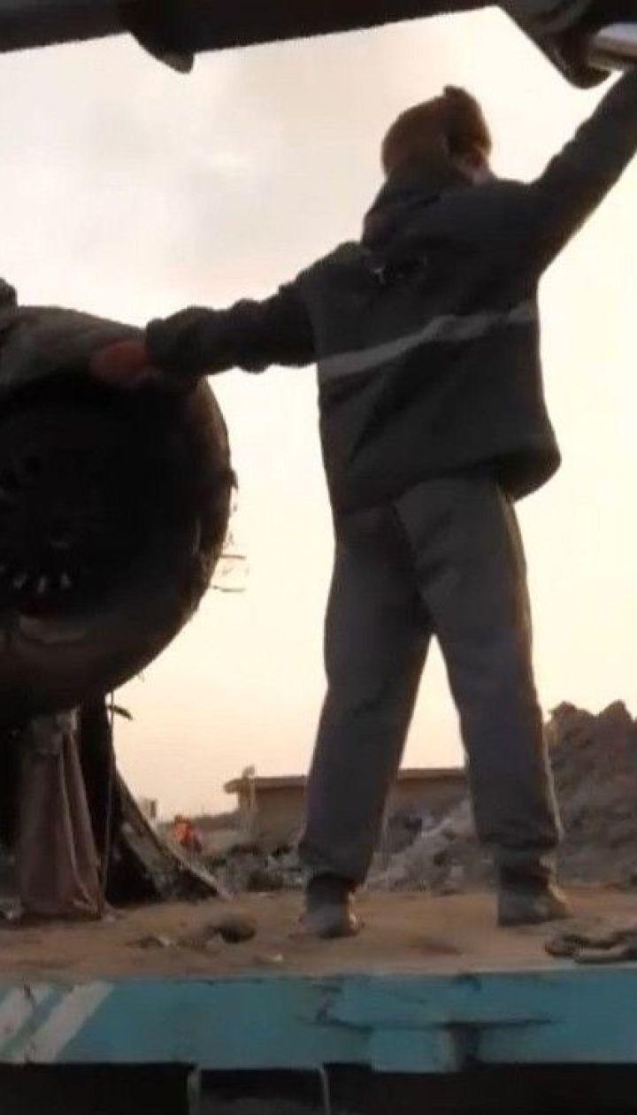 Канадські слідчі вимагатимуть доступу до бортових самописців збитого в Ірані пасажирського літака