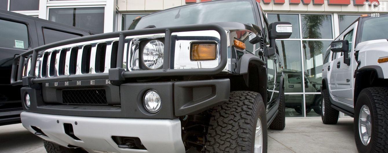 Hummer воскресне в електричному пікапі
