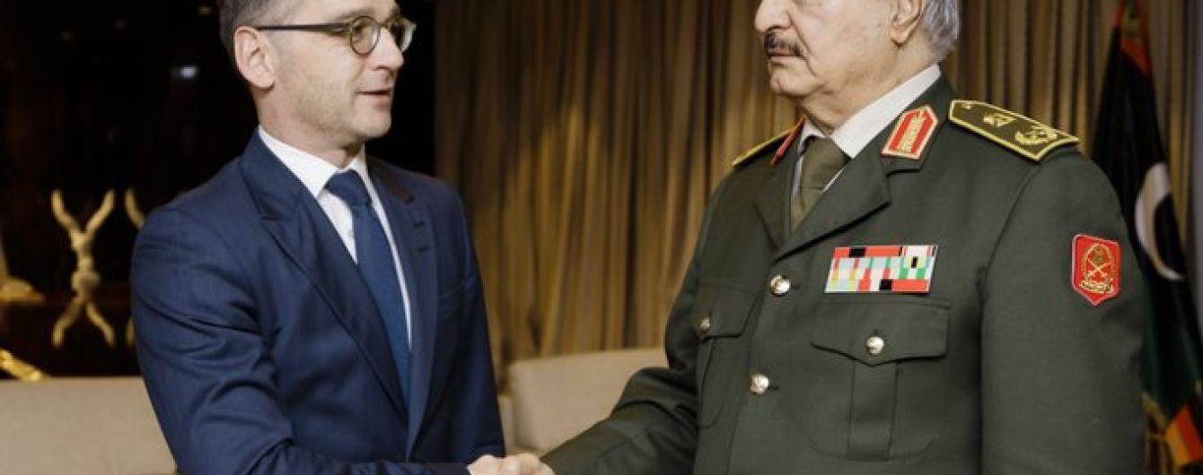 Хафтар согласился придерживаться мира в Ливии – глава МИД Германии