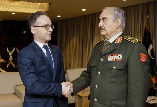 Хафтар погодився дотримуватися миру в Лівії – голова МЗС Німеччини
